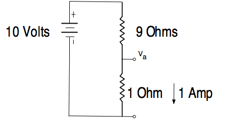 Impedance Matching Capacitor Divider on dc resistive circuit diagram
